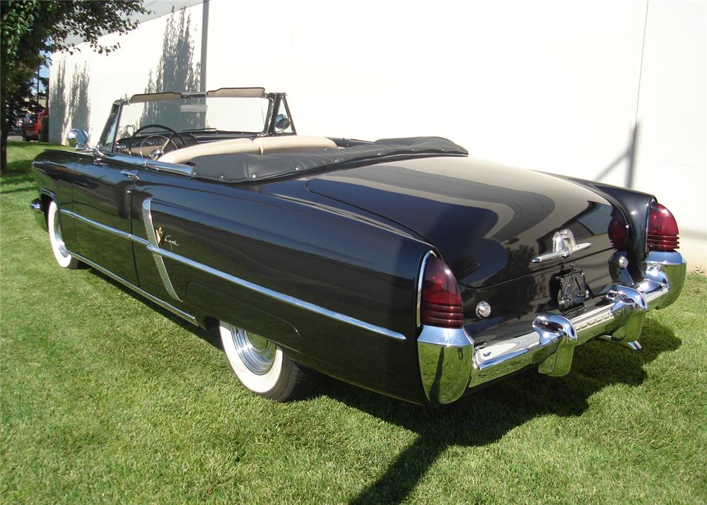 1953 LINCOLN CAPRI CONVERTIBLE - Rear 3/4 - 60703