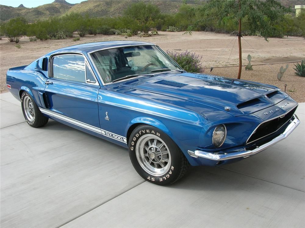 68 Shelby Gt500 >> 1968 SHELBY GT500 FASTBACK - 60710