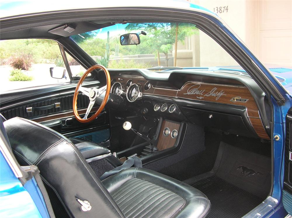 1968 SHELBY GT500 FASTBACK - Interior - 60710