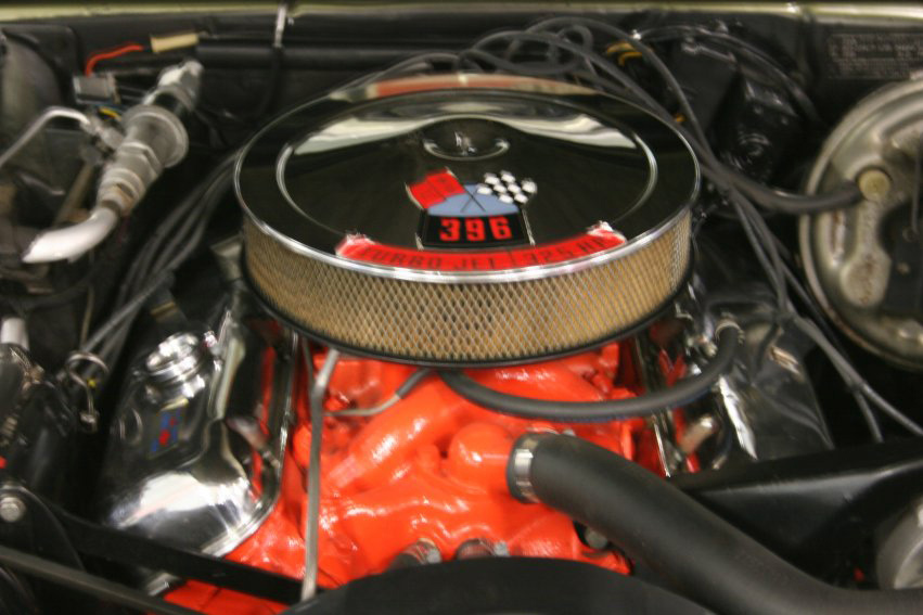 1968 CHEVROLET CAMARO RS/SS COUPE - Engine - 60713