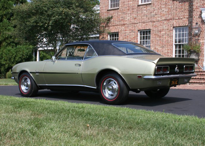 1968 CHEVROLET CAMARO RS/SS COUPE - Rear 3/4 - 60713