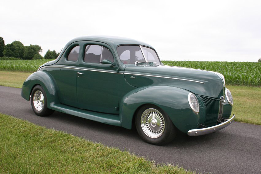 1940 ford custom 2 door coupe 60718 for 1940 ford two door sedan
