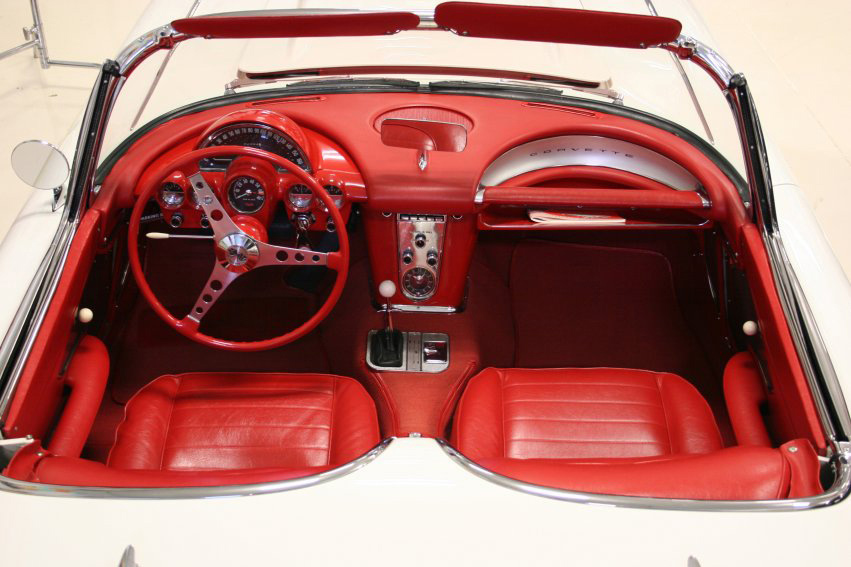 1959 CHEVROLET CORVETTE CONVERTIBLE - Interior - 60721