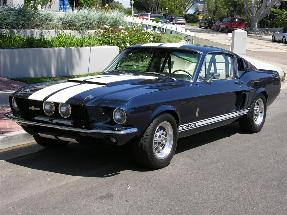 1967 SHELBY GT500 FASTBACK - 60726