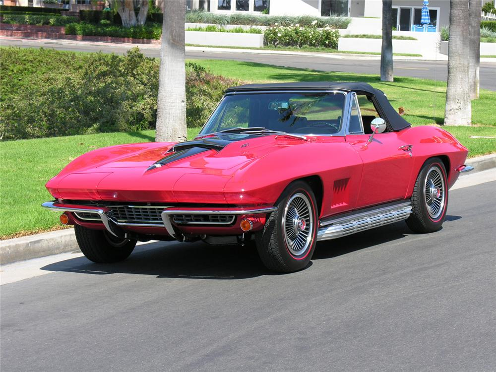 1967 chevrolet corvette convertible 60727. Black Bedroom Furniture Sets. Home Design Ideas