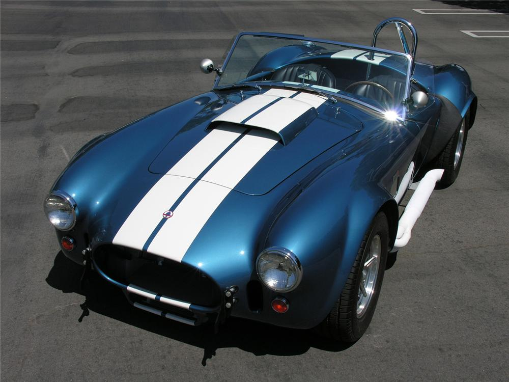 1965 COBRA SERIES 4000 ROADSTER 427 S/C - Front 3/4 - 60729