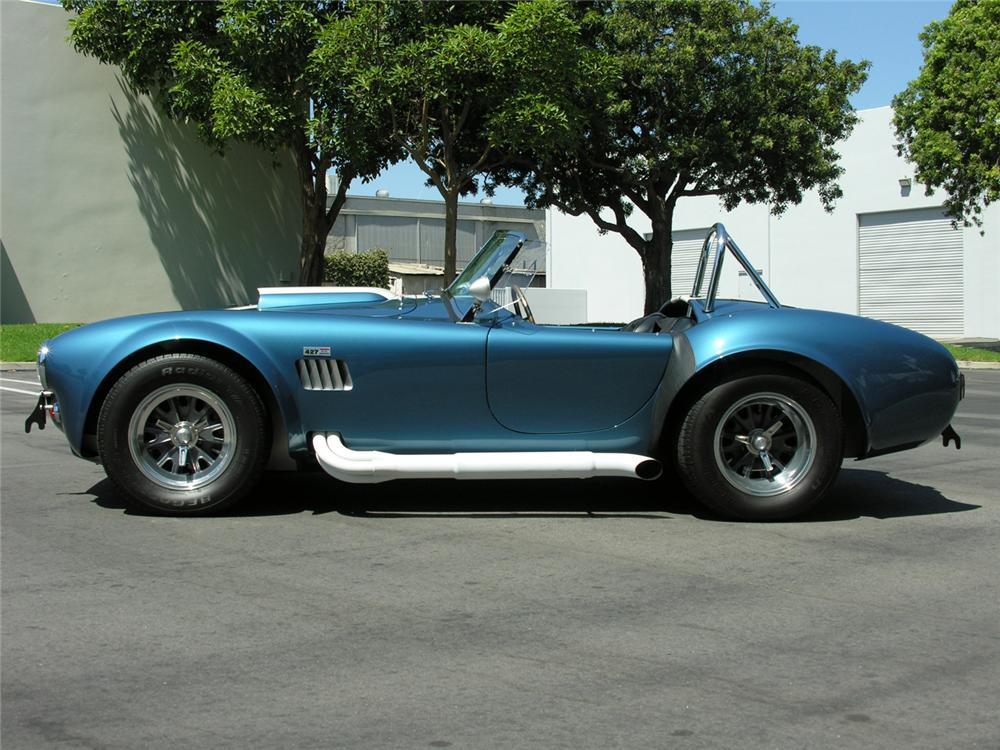 1965 COBRA SERIES 4000 ROADSTER 427 S/C - Side Profile - 60729