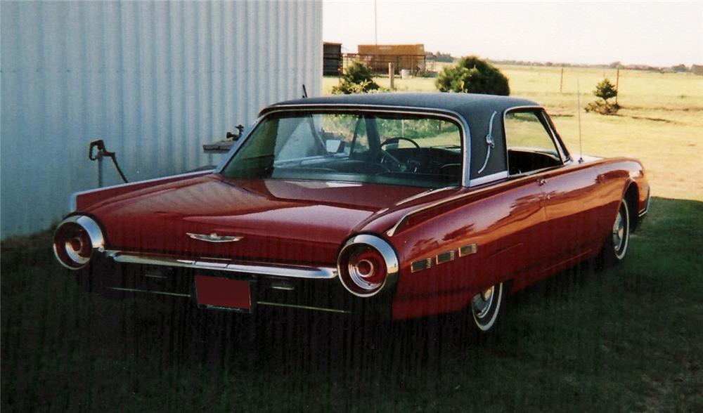 1962 ford thunderbird 2 door hardtop 60734. Cars Review. Best American Auto & Cars Review