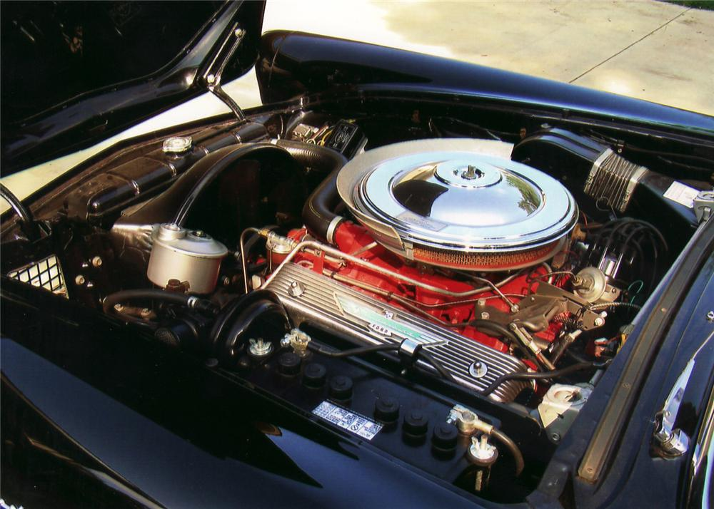 1957 FORD THUNDERBIRD CONVERTIBLE - Engine - 60735