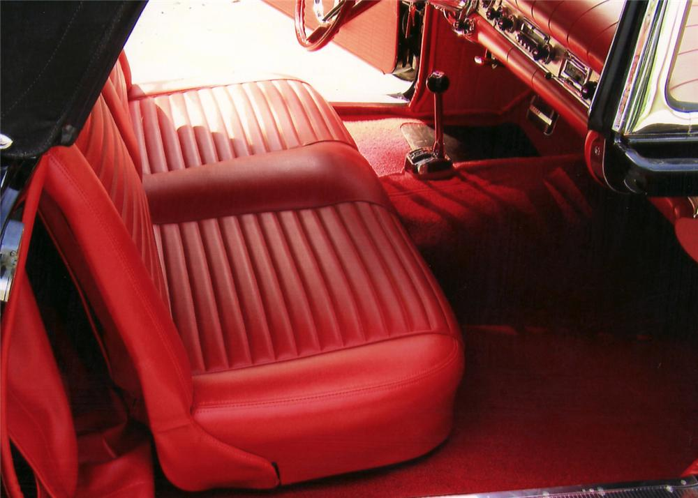 1957 FORD THUNDERBIRD CONVERTIBLE - Interior - 60735