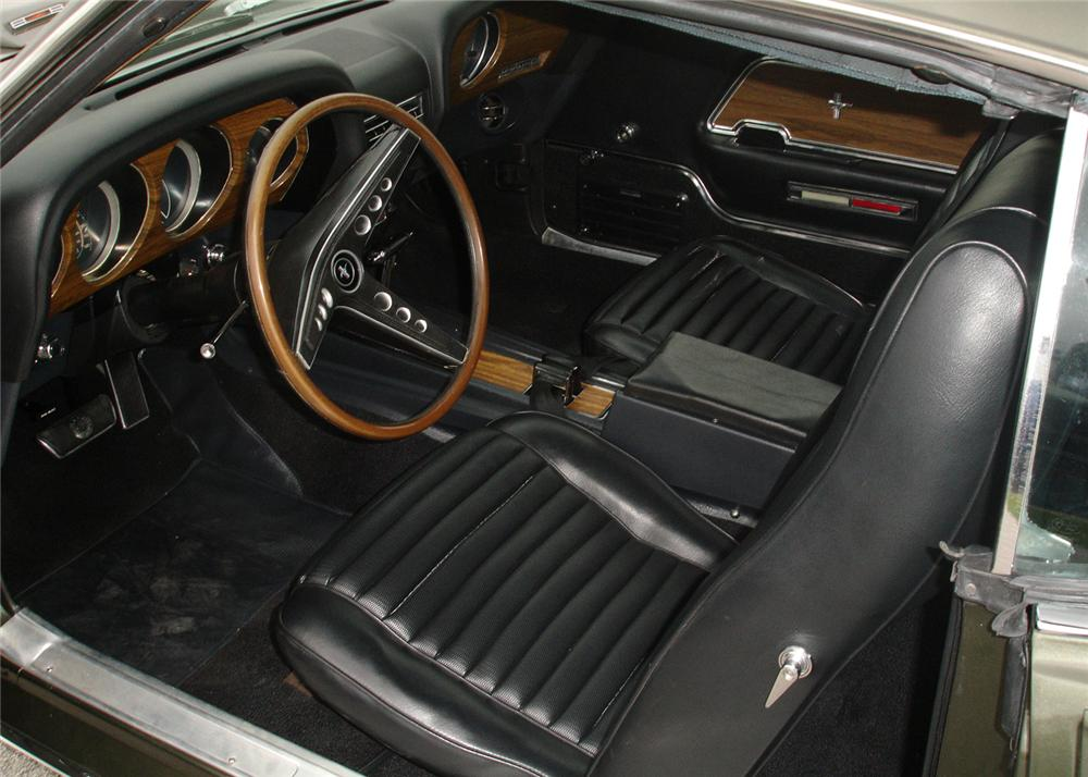 1969 FORD MUSTANG 428 CJ FASTBACK - Interior - 60740