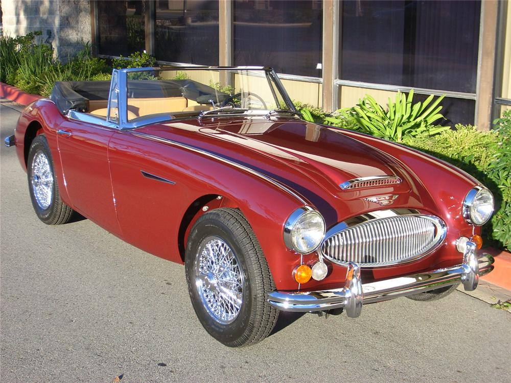 1965 AUSTIN-HEALEY 3000 MARK III BJ8 CONVERTIBLE - Front 3/4 - 60752