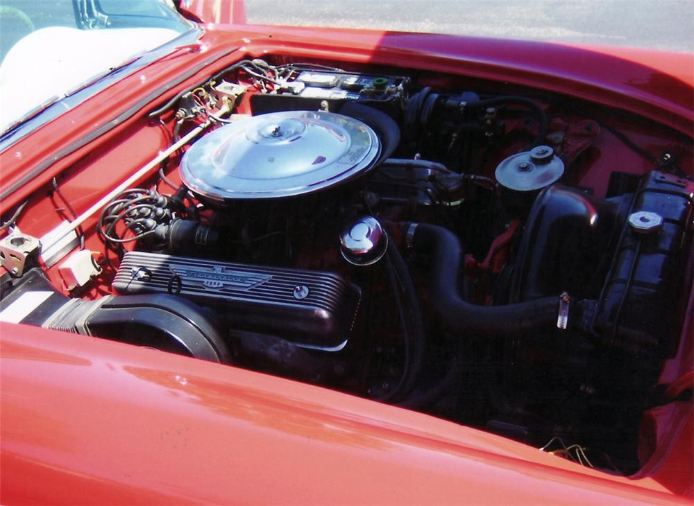 1957 FORD THUNDERBIRD CONVERTIBLE - Engine - 60756