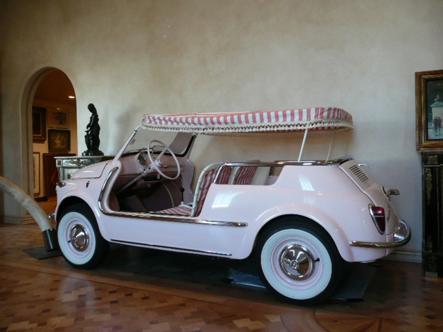 1959 FIAT JOLLY CONVERTIBLE - Rear 3/4 - 60782