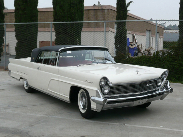 1959 LINCOLN CONTINENTAL MARK IV CONVERTIBLE - Front 3/4 - 60786