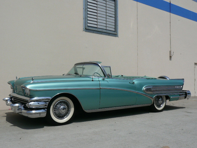 1958 buick roadmaster convertible   60788