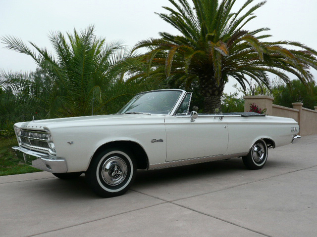 1965 PLYMOUTH SATELLITE CONVERTIBLE - Front 3/4 - 60794