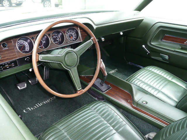 1970 DODGE CHALLENGER R/T 2 DOOR HARDTOP - Interior - 60795