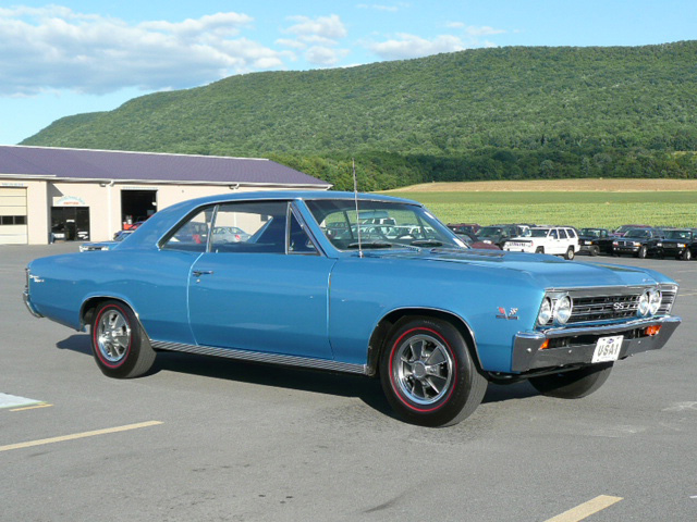 1967 CHEVROLET CHEVELLE SS 396 COUPE - Front 3/4 - 60797