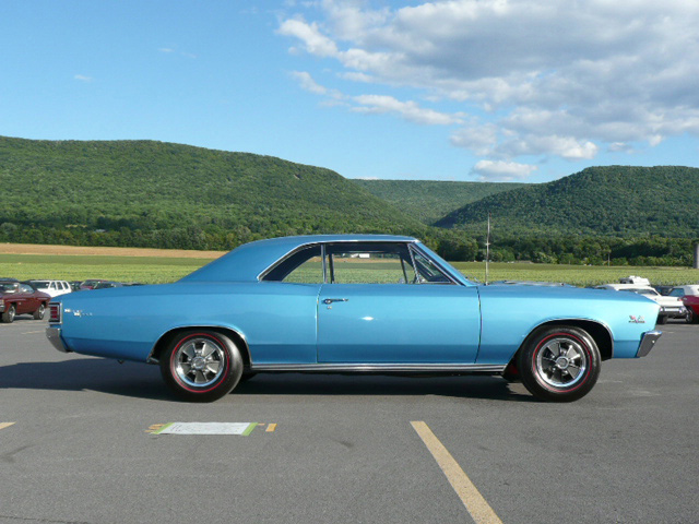 1967 CHEVROLET CHEVELLE SS 396 COUPE - Side Profile - 60797