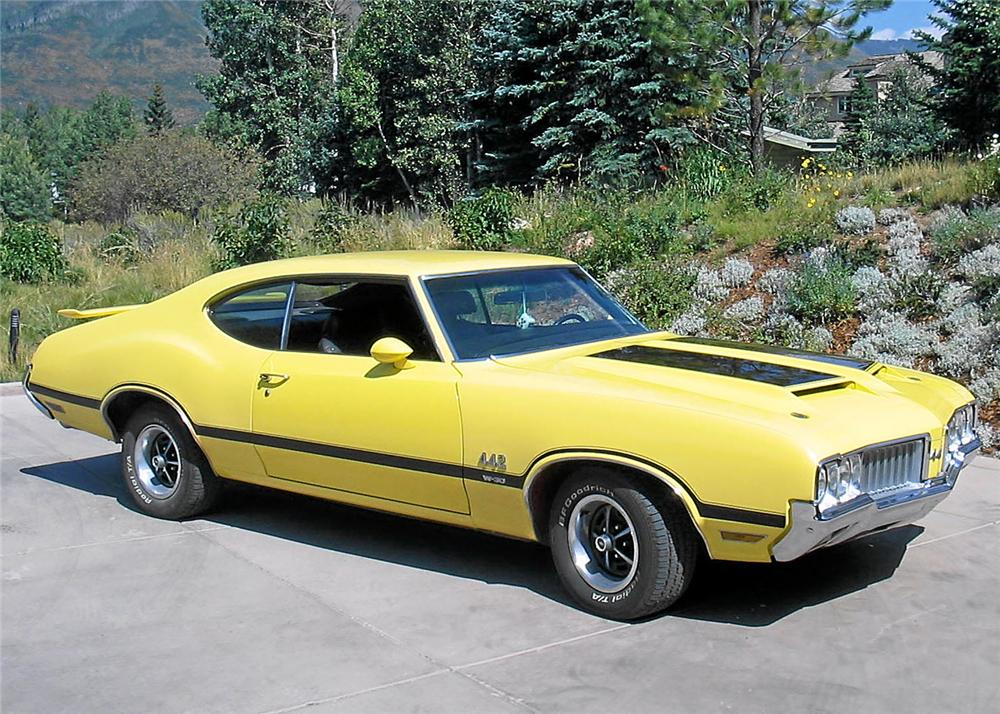 1970 OLDSMOBILE 442 W30 COUPE - Front 3/4 - 60802