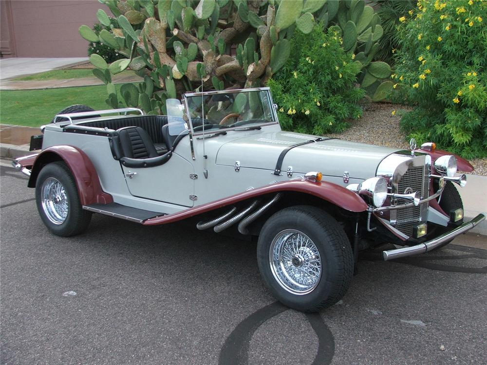 1929 mercedes benz roadster re creation 60812 for Mercedes benz roadster price