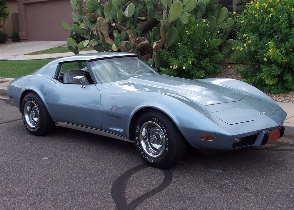 1977 CHEVROLET CORVETTE COUPE - Front 3/4 - 60813