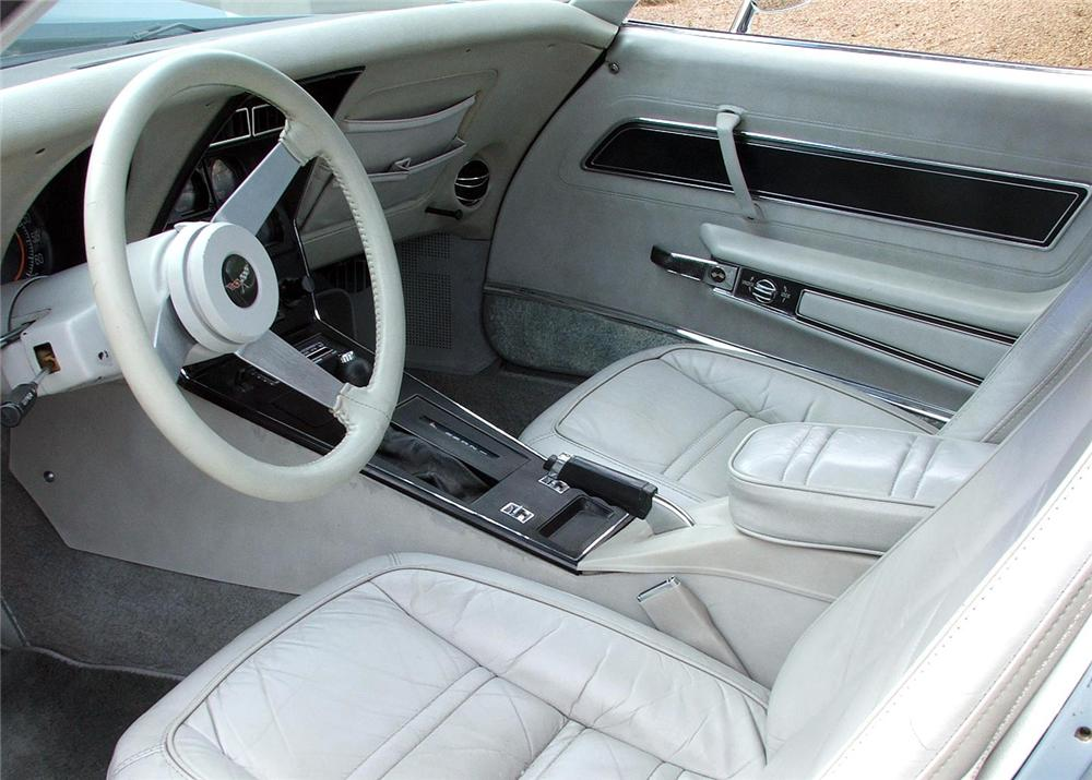 1977 CHEVROLET CORVETTE COUPE - Interior - 60813