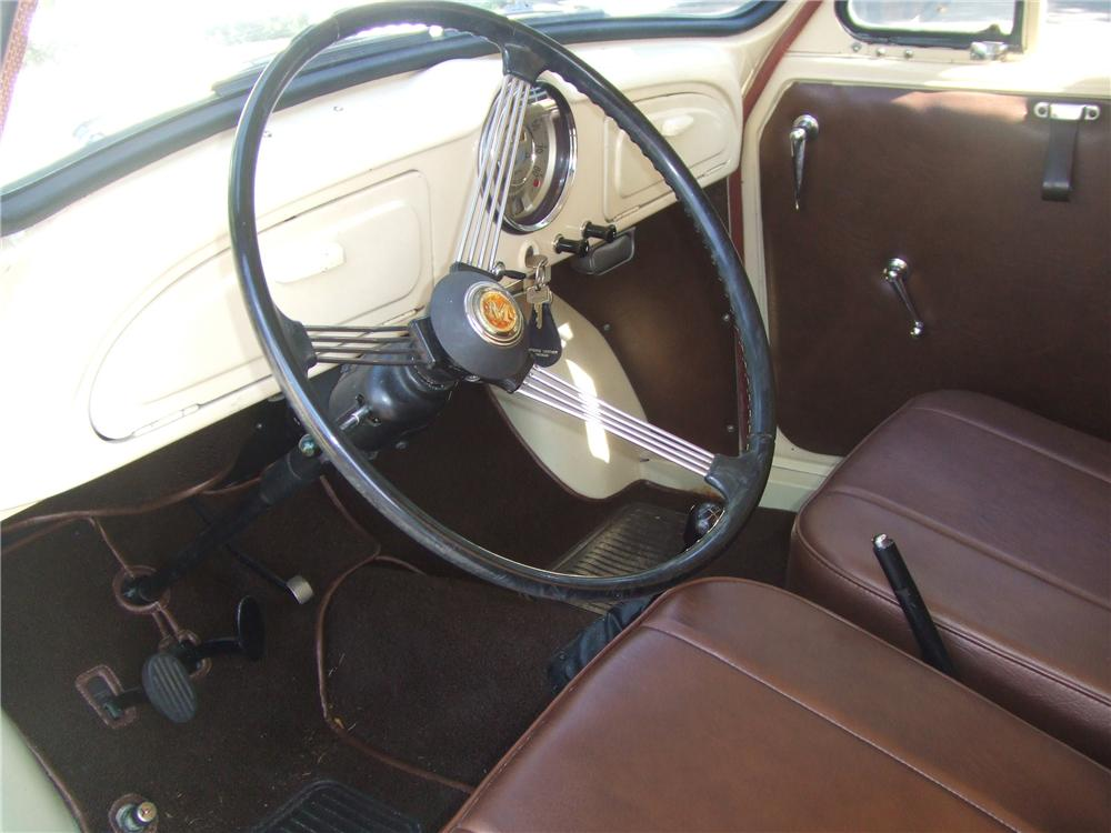 1960 MORRIS MINOR PICKUP - Interior - 60818