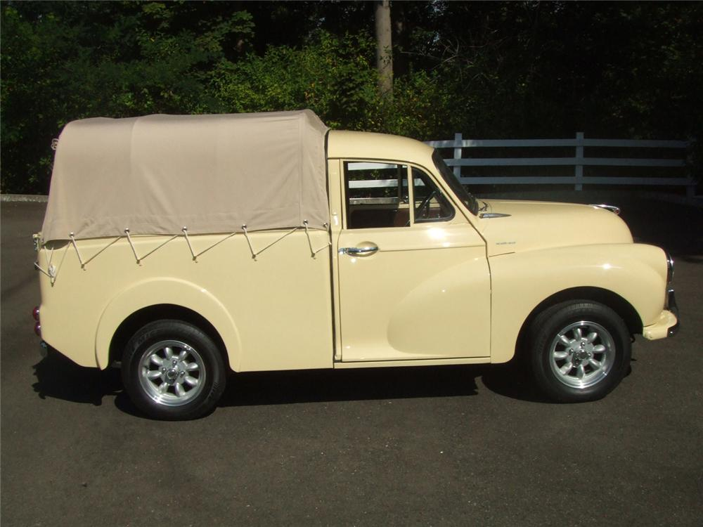1960 MORRIS MINOR PICKUP - Side Profile - 60818