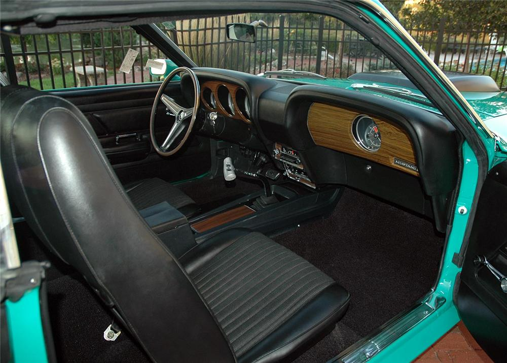 1970 FORD MUSTANG BOSS 429 FASTBACK - Interior - 60821