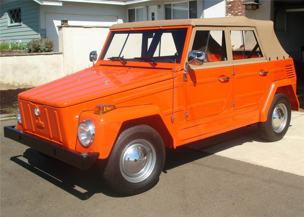 1973 VOLKSWAGEN THING CONVERTIBLE - Front 3/4 - 60851