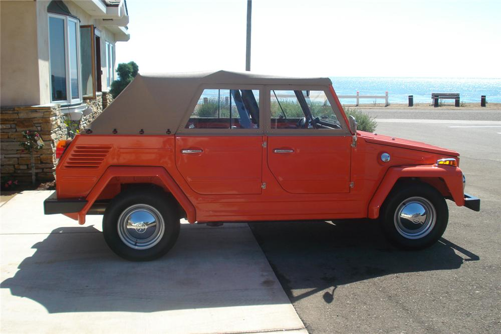 1973 VOLKSWAGEN THING CONVERTIBLE - Side Profile - 60851