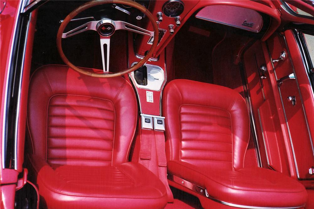 1966 CHEVROLET CORVETTE CONVERTIBLE - Interior - 60852