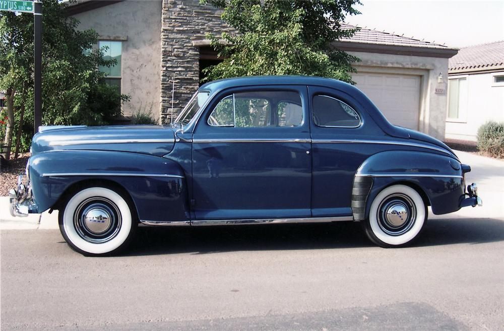 1948 ford super deluxe 2 door coupe 60867