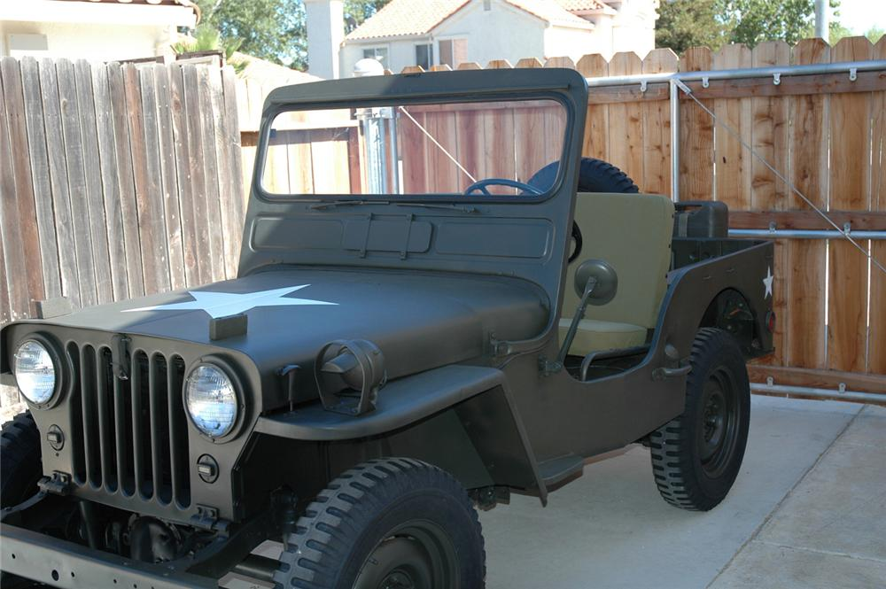 1946 WILLYS UTILITY JEEP - Front 3/4 - 60872