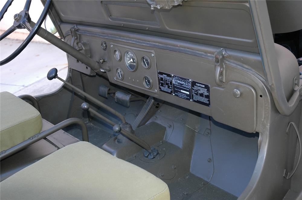 1946 WILLYS UTILITY JEEP - Interior - 60872