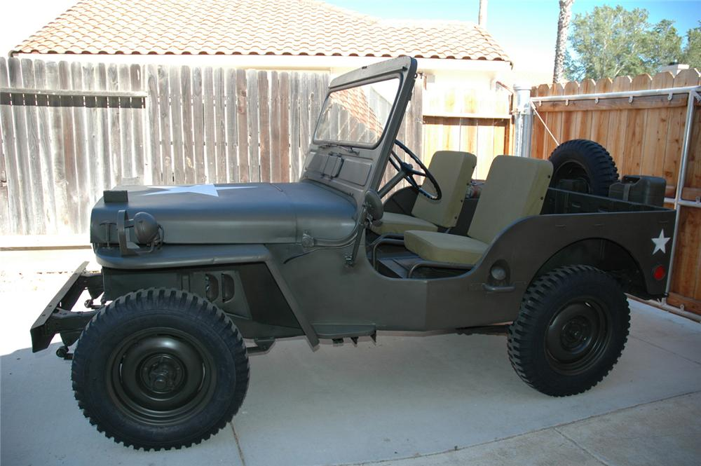 1946 WILLYS UTILITY JEEP - Side Profile - 60872