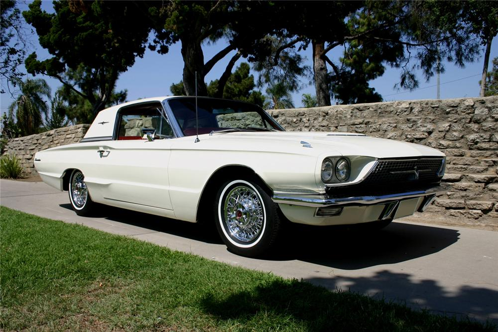 1966 FORD THUNDERBIRD TOWN HARDTOP - Front 3/4 - 60874