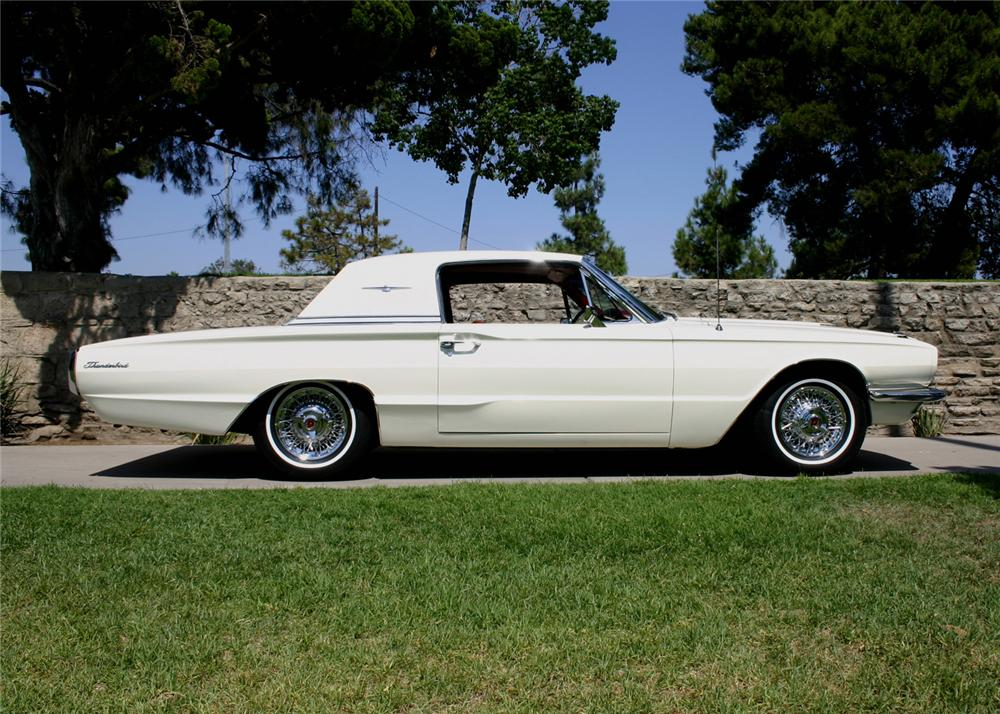 1966 ford thunderbird town hardtop 60874. Black Bedroom Furniture Sets. Home Design Ideas