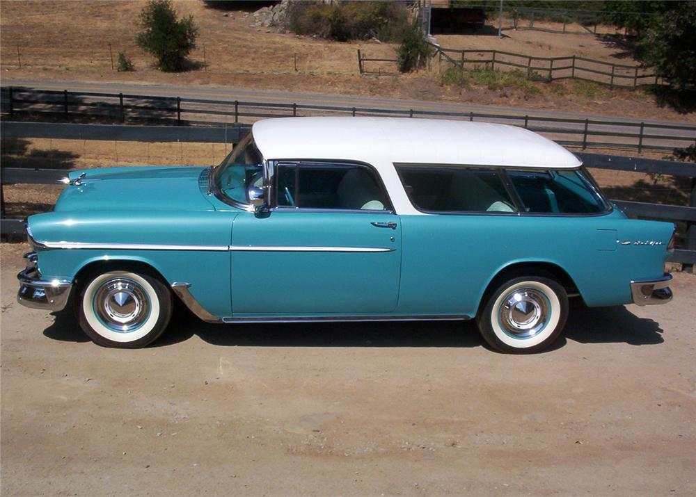 1955 chevrolet nomad 2 door station wagon 60887 for 1955 chevy 2 door wagon for sale