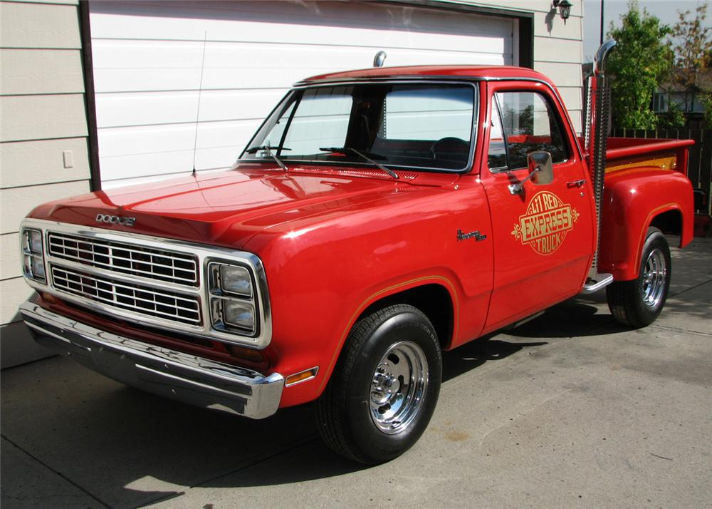 1979 dodge lil red express pickup front 3 4 60889. Cars Review. Best American Auto & Cars Review