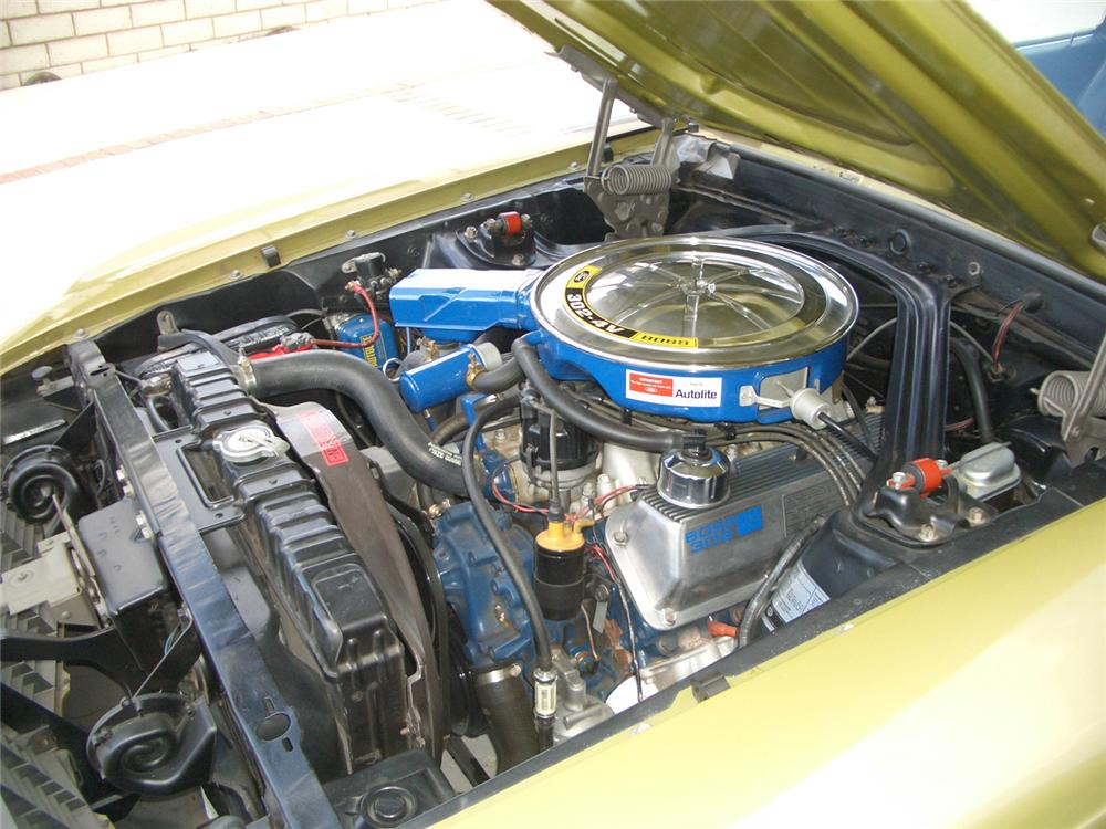 1970 FORD MUSTANG BOSS 302 FASTBACK - Engine - 60899