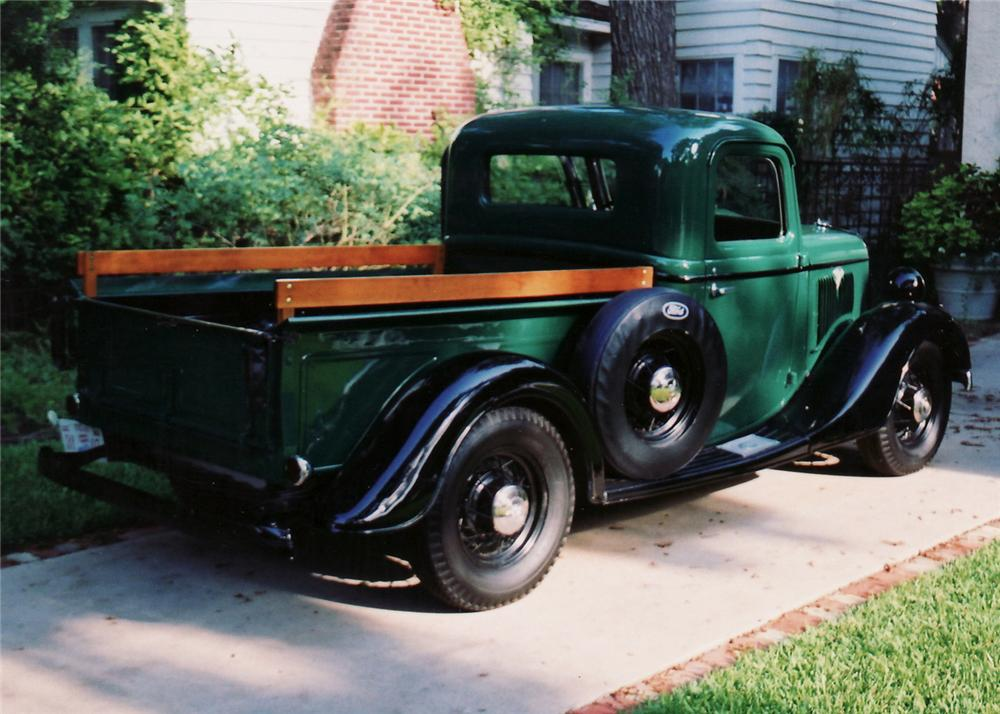 1935 FORD 1/2 TON PICKUP - 60907