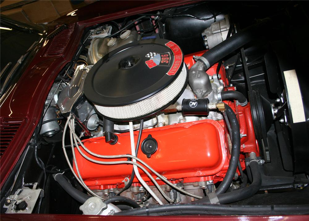 1965 CHEVROLET CORVETTE CONVERTIBLE - Engine - 60920