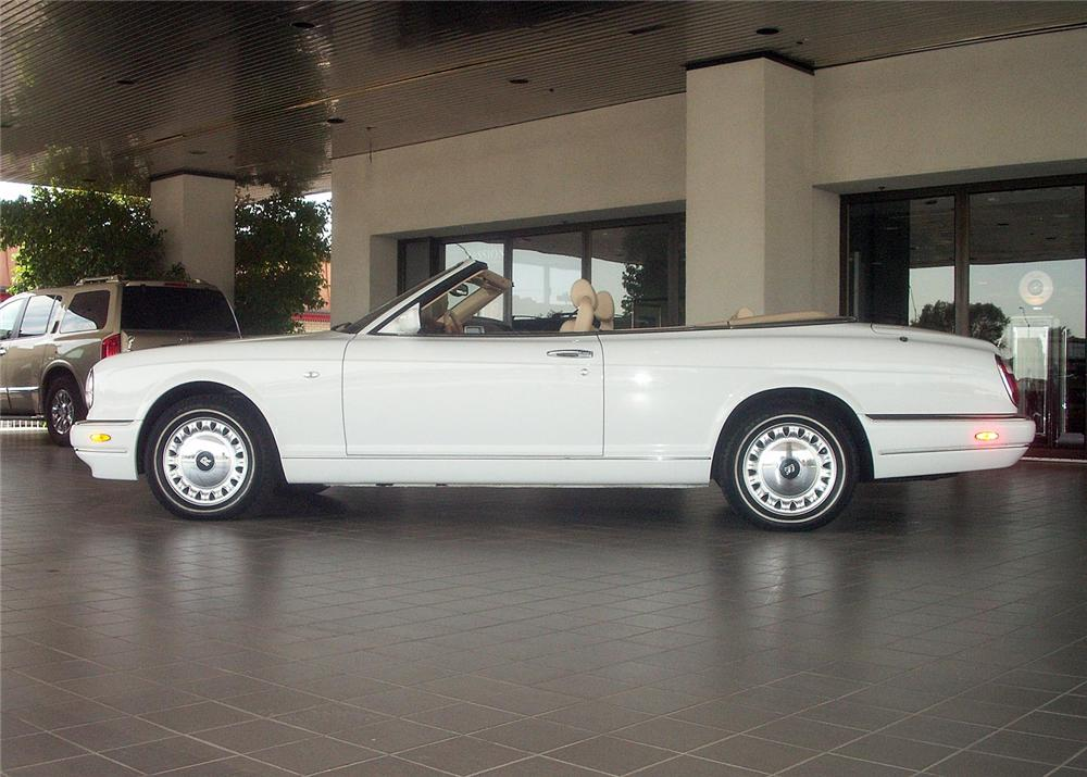 2001 ROLLS-ROYCE CORNICHE CONVERTIBLE - Side Profile - 60928