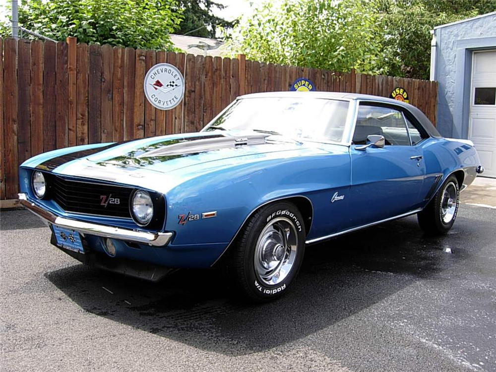 1969 CHEVROLET CAMARO Z/28 COUPE - Front 3/4 - 60938