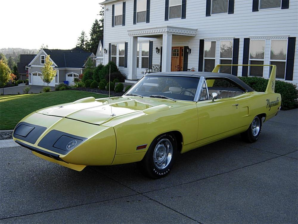 1970 PLYMOUTH SUPERBIRD 2 DOOR HARDTOP - Front 3/4 - 60941