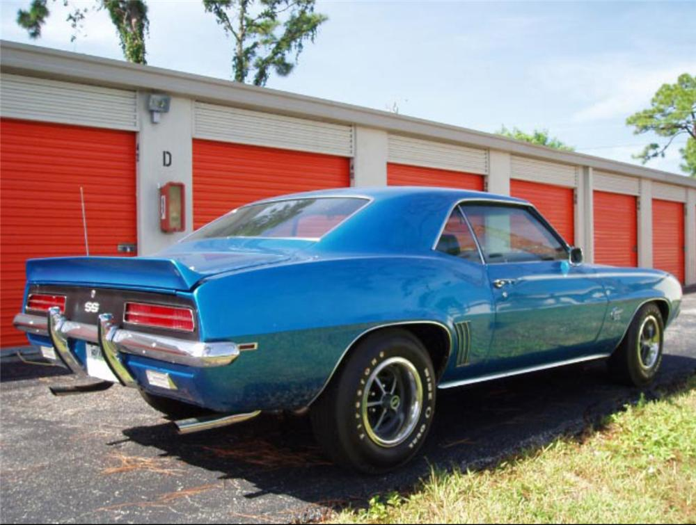 1969 CHEVROLET CAMARO RS/SS COUPE - Rear 3/4 - 60947