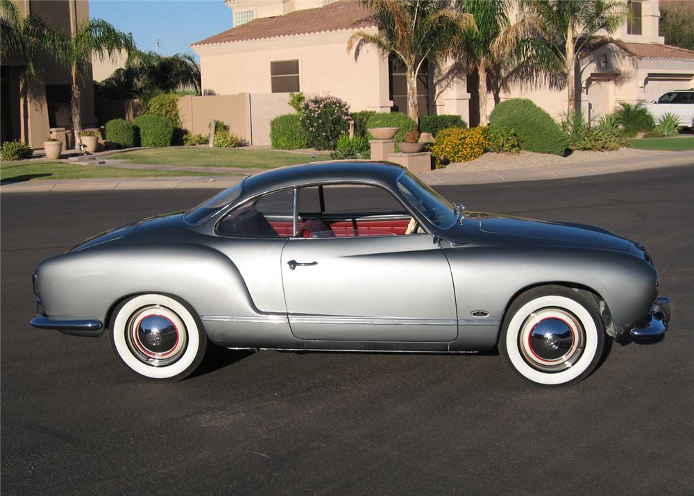 1957 Volkswagen Karmann Ghia 2 Door Hardtop Custom 60956